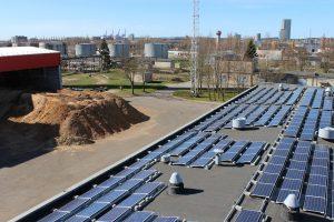 Saulės energija mažins šilumos kainą