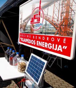 "AB ""Klaipėdos energija"" jaunimui pristatė ekologiškos energijos kryptis"